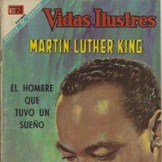 Tebeos: VIDAS ILUSTRES - NOVARO MEXICO # ESPECIAL 15-JUN.-1968 MARTÍN LUTHER KING. Lote 295588388