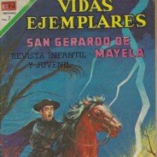 Tebeos: VIDAS EJEMPLARES - NOVARO MEXICO # 310 1-FEB.-1970 SN GERARDO MAYELA. Lote 295638278