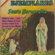 Tebeos: VIDAS EJEMPLARES - NOVARO MEXICO # 311 23-FEB.-1970 STA BERNARDITA. Lote 295638338