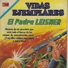 Tebeos: VIDAS EJEMPLARES - NOVARO MEXICO # 313 15-MAR.-1970 PADRE CARLOS LEISNER. Lote 295638478