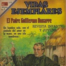 Tebeos: VIDAS EJEMPLARES - NOVARO MEXICO # 318 1-JUN.-1970 PADRE GUILLERMO DOUARRE. Lote 295638858