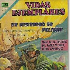 Tebeos: VIDAS EJEMPLARES - NOVARO MEXICO # 323 10-AGO.-1970 PADRE PEDRO JUAN DE SMET II. Lote 295639158