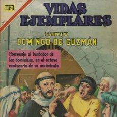 Tebeos: VIDAS EJEMPLARES - NOVARO MEXICO # 325 21-SEP.-1970 STO DOMINGO DE GUZMÁN. Lote 295639308