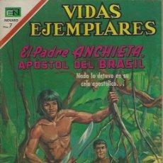 Tebeos: VIDAS EJEMPLARES - NOVARO MEXICO # 328 2-NOV.-1970 PADRE ANCHIETA. Lote 295639473