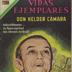 Tebeos: VIDAS EJEMPLARES - NOVARO MEXICO # 330 30-NOV.-1970 DON HELDER CÁMARA. Lote 295639583