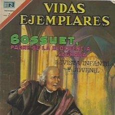 Tebeos: VIDAS EJEMPLARES - NOVARO MEXICO # 332 28-DIC.-1970 BOSSUET. Lote 295639723
