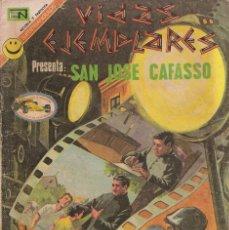 Tebeos: VIDAS EJEMPLARES - NOVARO MEXICO # 364 26-MAR.-1972 SN JOSÉ CAFASSO. Lote 295639858