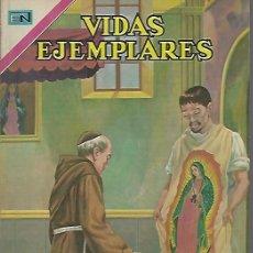 Tebeos: VIDAS EJEMPLARES - NOVARO MEXICO # EXTRAORDINARIO 1-DIC.-1970 NUESTRA SEÑORA DE GUADALUPE. Lote 295640358