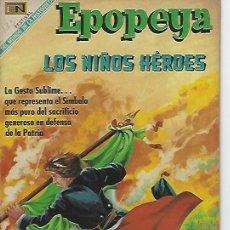 Tebeos: EPOPEYA - NOVARO MEXICO # 135 01-AUG-69 LOS NIÑOS HEROES. Lote 295648433