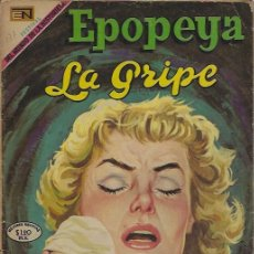 Tebeos: EPOPEYA - NOVARO MEXICO # 137 01-OCT-69 LA GRIPE. Lote 295648503