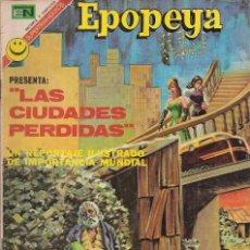 Tebeos: EPOPEYA - NOVARO MEXICO # 197 26-MAY-72 LAS CIUDADES PERDIDAS. Lote 295658433