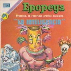 Tebeos: EPOPEYA - NOVARO MEXICO # 207 02-FEB-73 LA INTELIGENCIA. Lote 295682223
