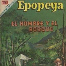 Tebeos: EPOPEYA - NOVARO MEXICO # EXTRAORDINARIO 01-NOV-68 EL HOMBRE Y EL BOSQUE. Lote 295683788