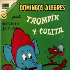Tebeos: DOMINGOS ALEGRES Nº 948 (NOVARO, 1972) TROMPÍN Y COLITA. Lote 295831278