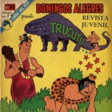 Tebeos: DOMINGOS ALEGRES Nº 1002 TRUCUTÚ (NOVARO, 1973). Lote 295832633