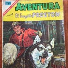 Tebeos: AVENTURA Nº 477. NOVARO - 1967. EL SARGENTO PRESTON. Lote 295834593