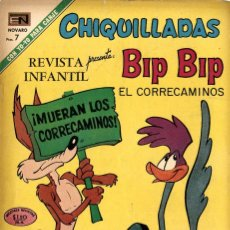 "Tebeos: CHIQUILLADAS Nº 299 ""BIP BIP"" (NOVARO, 1971). Lote 295834638"