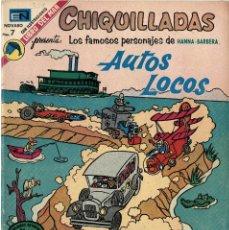 """Tebeos: CHIQUILLADAS Nº 351 """"AUTOS LOCOS"""" (NOVARO, 1973). Lote 295834913"""