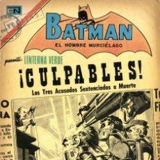 Tebeos: BATMAN Nº 618 -LINTERNA VERDE- (NOVARO, 1972). Lote 295837653