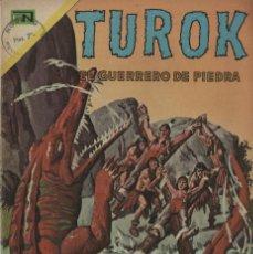 Tebeos: TUROK. EL GUERRERO DE PIEDRA Nº 30 (NOVARO, 1971). Lote 295838143