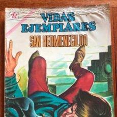 Tebeos: VIDAS EJEMPLARES. Nº 122. NOVARO, 1962 - SAN HERMENEGILDO. Lote 295838753