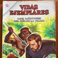 Tebeos: VIDAS EJEMPLARES. Nº 136. NOVARO, 1962 - LOS MARTIRES DEL RIO DE LA PLATA. Lote 295838953