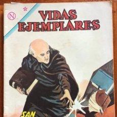 Tebeos: VIDAS EJEMPLARES. Nº 166. NOVARO, 1964 - SAN VICENTE PALLOTTI. Lote 295839148
