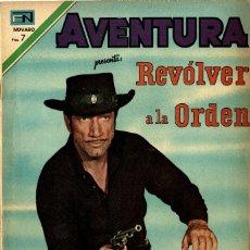 Tebeos: AVENTURA Nº 647 -REVOLVER A LA ORDEN- (NOVARO, 1970). Lote 295839288