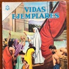Tebeos: VIDAS EJEMPLARES. Nº 181. NOVARO, 1964 - SANTA GENOVEVA PATRONA DE PARIS. Lote 295839368