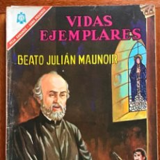 Tebeos: VIDAS EJEMPLARES. Nº 234. NOVARO, 1966 - BEATO JULIAN MAUNOIR. Lote 295839573