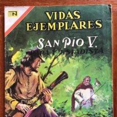 Tebeos: VIDAS EJEMPLARES. Nº 255. NOVARO, 1967- SAN PIO V, PAPA Y ESTADISTA. Lote 295839748