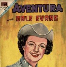 Tebeos: AVENTURA Nº 571 - DALE EVANS- (NOVARO, 1968). Lote 295840458