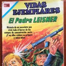 Tebeos: VIDAS EJEMPLARES. Nº 313. NOVARO, 1970- EL PADRE LEISNER. Lote 295848903