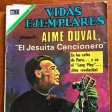 Tebeos: VIDAS EJEMPLARES. Nº 343. NOVARO, 1971 - AIME DUVAL, EL JESUITA CANCIONERO. Lote 295849108