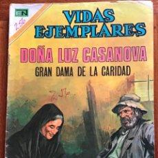 Tebeos: VIDAS EJEMPLARES. Nº 350. NOVARO, 1971 - DOÑA LUZ CASANOVA. Lote 295849608