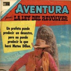 Tebeos: AVENTURA -LA LEY DEL REVÓLVER- Nº693 (NOVARO, 1971). Lote 295869038