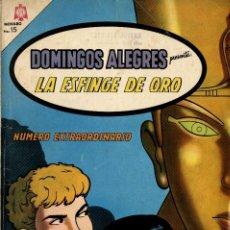Tebeos: DOMINGOS ALEGRES PRESENTA: LA ESFINGE DE ORO. Nº EXTRAORDINARIO (NOVARO, 1964) CON ALIX. Lote 295869783