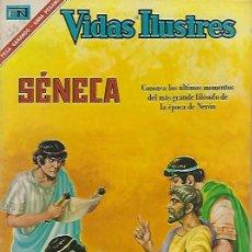 Tebeos: VIDAS ILUSTRES - NOVARO MEXICO # 155 1-FEB.-1967 SÉNECA. Lote 295886273