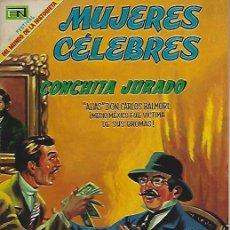 Tebeos: MUJERES CELEBRES - NOVARO MEXICO # 100 1-JUL.-1969 CONCHITA JURADO. Lote 295886293