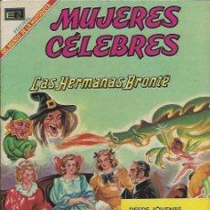 Tebeos: MUJERES CELEBRES - NOVARO MEXICO # 96 1-MAR.-1969 LAS HERMANAS BRONTE. Lote 295886313