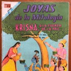Tebeos: JOYAS DE LA MITOLOGIA. Nº 89. NOVARO, 1968 - KRISNA, O LA BELLEZA DE LA PAZ. Lote 295913768