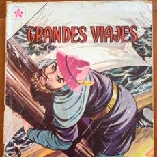 Tebeos: GRANDES VIAJES. Nº 5. NOVARO, 1963 - EL REGRESO DE MARCO POLO. Lote 295915058