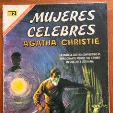Tebeos: MUJERES CELEBRES, Nº 78. NOVARO, 1967 - AGATHA CHRISTIE. Lote 295953473