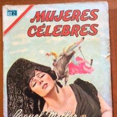 Tebeos: MUJERES CELEBRES, Nº 80. NOVARO, 1967 - RAQUEL MELLER. Lote 295953813