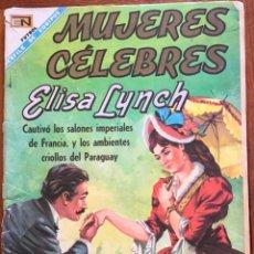 Tebeos: MUJERES CELEBRES, Nº 84. NOVARO, 1968 - ELISA LYNCH. Lote 295954463
