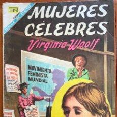 Tebeos: MUJERES CELEBRES, Nº 85. NOVARO, 1968 - VIRGINIA WOOLF. Lote 295954858