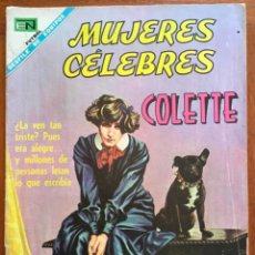 Tebeos: MUJERES CELEBRES, Nº 87. NOVARO, 1968 - COLETTE. Lote 295955373