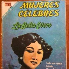 Tebeos: MUJERES CELEBRES, Nº 92. NOVARO, 1968 - LA BELLA OTERO. Lote 295955563