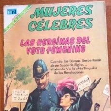 Tebeos: MUJERES CELEBRES, Nº 98. NOVARO, 1969 - LAS HEROINAS DEL VOTO FEMENINO. Lote 295956388