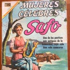 Tebeos: MUJERES CELEBRES, Nº 101. NOVARO, 1969 - SAFO. Lote 295956653